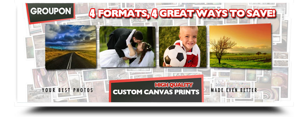 Groupon Custom Canvas Prints
